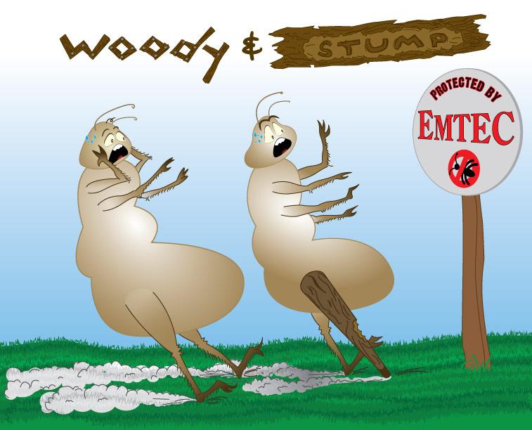 Woody and Stump Custom Art creation