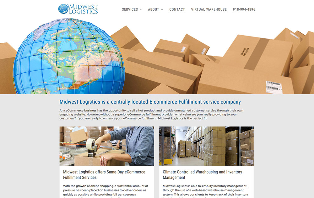 Midwest Logistics Gets Website Overhaul