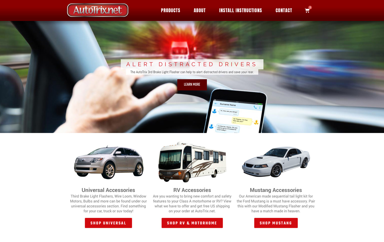 AutoTrix Cruises into a New Web Design