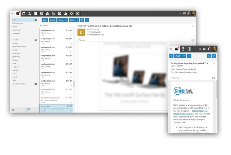 SmarterMail Preview